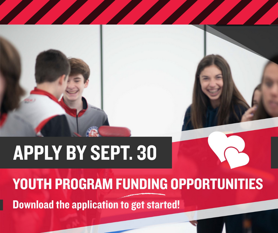 Curling Canada launches new youth program funding opportunities